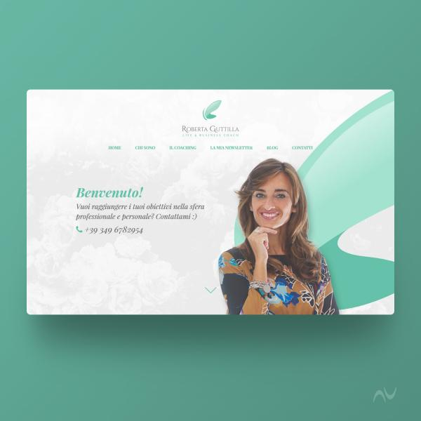 Sito web responsive Business Coach