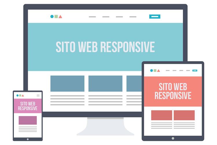 Esempio di layout responsive per mobile