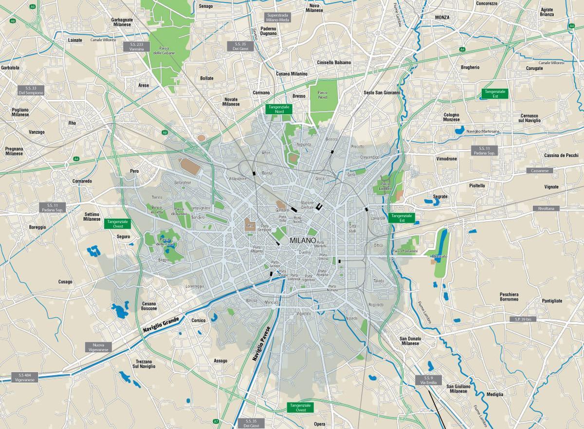 milan canals map